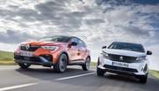 Essai comparatif : le Renault Arkana défie déjà le Peugeot 3008 !