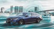 Honda commercialise la première voiture autonome au monde