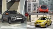 Dacia Spring face à Renault Twingo Electric et Volkswagen e-up!