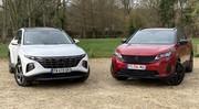 Comparatif vidéo - Hyundai Tucson VS Peugeot 3008 : duel de fortes têtes