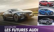 Audi. Le calendrier secret jusqu'en 2024
