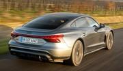 Essai Audi e-tron GT RS
