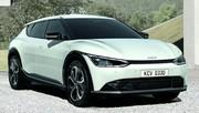 Kia EV6 : un crossover électrique racé (premières photos)