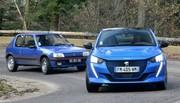 Match : a-t-on le droit d'opposer une Peugeot 208 électrique à une 205 GTI ?