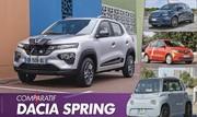 Dacia Spring (2021) : L'électrique la moins chère face à ses rivales