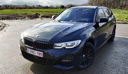 Essai BMW 330e xDrive Touring : break, hybride et 4X4