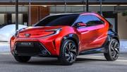 Toyota Aygo X Prologue : plus d'agressivité pour la future citadine nippone