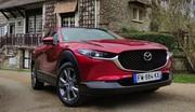 Essai Mazda CX-30 e-Skyactiv X : le moteur atmosphérique fait de la résistance