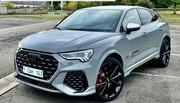 Essai de l'Audi RS Q3 Sportback