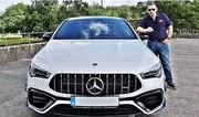 Essai de la Mercedes CLA 45 S AMG