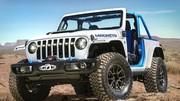 Jeep Magneto Concept : un Wrangler électrique à 6 vitesses
