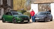 Peugeot 308 (2021) vs Volkswagen Golf 8 : Premier duel statique