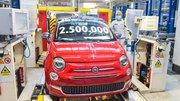 Fiat : 2.5 millions de 500 construites dans son usine polonaise de Tychy