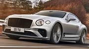 Bentley Continental GT Speed (2021) : 659 ch pour le coupé au W12