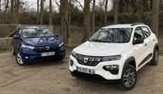 Comparatif vidéo - Dacia Spring vs Dacia Sandero : à 13 500 €, vous êtes plus électrique ou thermique ?