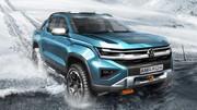 Le futur Volkswagen Amarok s'approche de la réalité avec un look futuriste