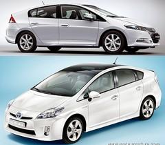 Honda Insight et Toyota Prius 3, ni sœurs ni ennemies, mais toutes 2 championnes