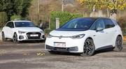Essai Audi A3 40 TFSI e vs Volkswagen ID.3 : électrification à géométrie variable