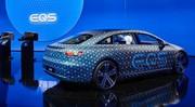 Mercedes EQS : intérieur en mode Imax
