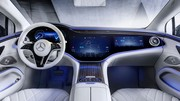 Voici l'intérieur ultra connecté de la Mercedes EQS !