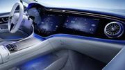 Mercedes EQS, un habitacle pour battre Tesla