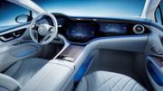Mercedes EQS : les premières photos de l'intérieur