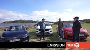 Emission Turbo : Giulia; e-208 vs 205 GTI; 911; La route en cabriolets