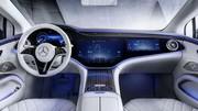 Mercedes EQS : découvrez son étonnant intérieur !