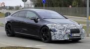 Mercedes EQS : la grande berline 100% électrique tombe le camouflage !