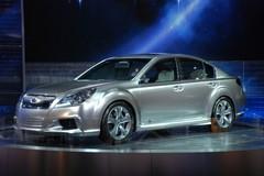 Subaru Legacy Concept : nouveau visage
