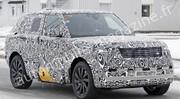 Le futur Range Rover (2021) surpris sur la route