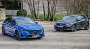 Comparatif statique - Peugeot 308 VS Volkswagen Golf : objectif européen