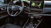 Jeep Compass restylé (2021) : Les prix débutent à 42 700 €