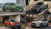 Nouvelles 308, DS 4, C4 et Mégane électrique : le tableau des compactes françaises en 2021