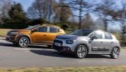 Essai comparatif : la Dacia Sandero Stepway défie la Citroën C3