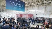 Nio passe le cap des 100 000 voitures