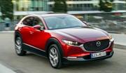 Essai et mesures du nouveau Mazda CX-30 2.0 e-SkyActiv X 2021