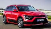 Kia Niro (2022) : Voici le museau du nouveau SUV compact