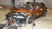 Nouvelle Dacia Sandero : 2 étoiles seulement au crash-test Euro NCAP