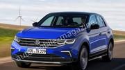 Première image du Volkswagen T-Roc restylé