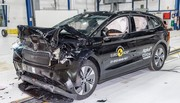 Crash test Euro NCAP : un record pour le Skoda Enyaq