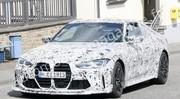 La future BMW M4 CS/CSL déjà surprise sur la route