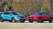 Toyota Yaris Cross vs Renault Captur : la référence française va-t-elle vaciller ? - Comparatif statique