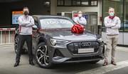 Audi Brussels : 100.000 Audi e-tron produites