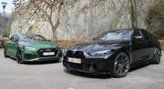 Essai Audi RS5 Sportback vs BMW M3 Competition : pour parents très (très) pressés !