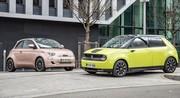 Essai Fiat 500e VS Honda e : duel d'électrons libres