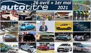 Résumé Auto Titre du 26 avril au 1er mai 2021