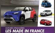 Les voitures étrangères fabriquées en France