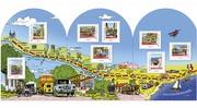 La Poste lance une série de timbres collector N7 : La route des vacances, en balade du Nord au Sud