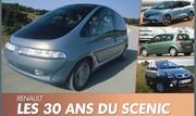 Renault Scénic : Du monospace au SUV, une saga de 30 ans !